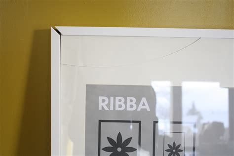 ikea ribba fix a broken ikea ribba picture frame