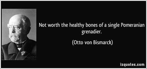 pomeranian grenadier not worth the healthy bones of a single pomeranian grenadier