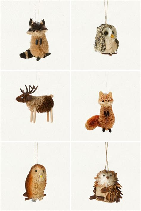 animal tree ornaments unruly things all the animals