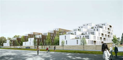 www housing video 100 social housing units in caen olgga architects archdaily