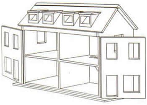 free dollhouse floor plans free doll house design plans wooden doll house plan