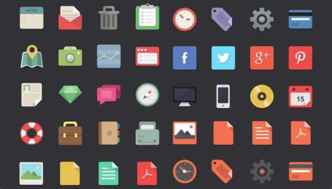 Flat Design Icon Download | free download 48 flat designer icons webdesigner depot