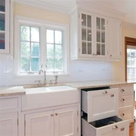custom made white kitchen with inset doors by best