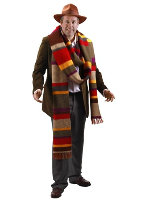 level 2 doctor who fourth fourth doctor premium scarf