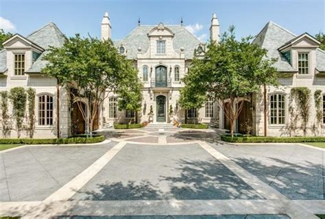 mansions in dallas 14 5 million french inspired stone mansion in dallas tx