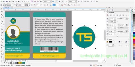 membuat kartu nama dengan microsoft office publisher 2007 cara desain 10 template kartu cara membuat kartu ucapan