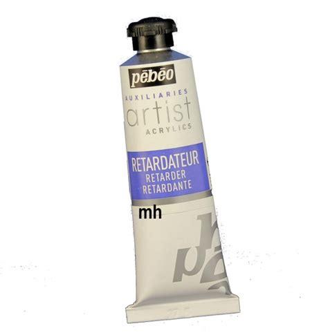 acrylic paint not drying pebeo retarder 37ml drying time of acrylic
