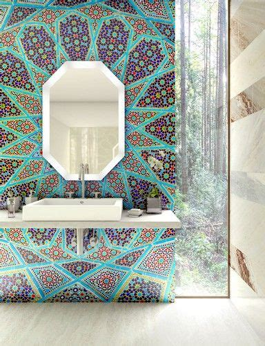 mosaic ideas for bathrooms best 25 mosaic bathroom ideas on pinterest moroccan