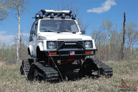 jeep samurai for sale suzuki samurai snowcat jeep rockcrawler 4x4 lifted tracks