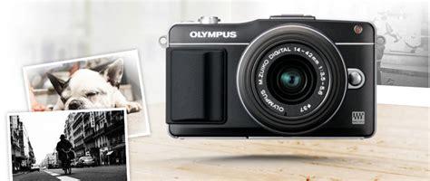Kamera Olympus E Pm2 olympus e pm2 kit black stilrent designad kamera med