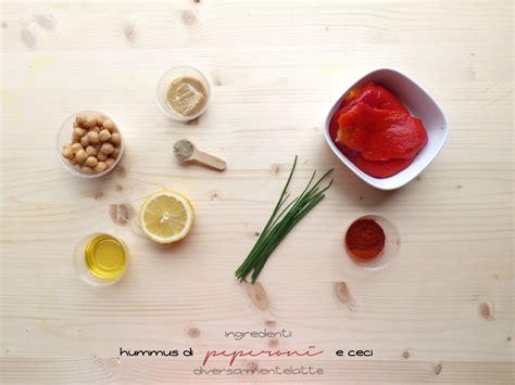 come cucinare i ceci lessati hummus di peperoni e ceci