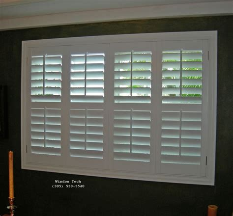 Custom Plantation Shutters Products From Window Tech Custom Plantation Shutters