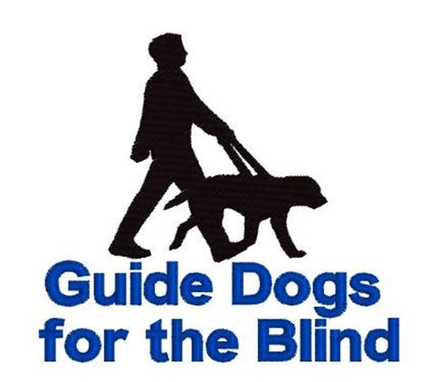 guide dogs for the blind cusom logo guide dogs for the blind