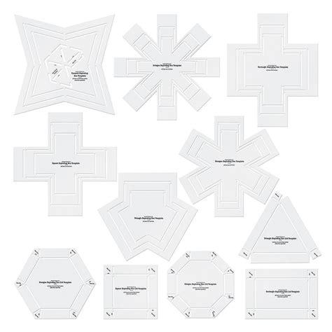 free templates for exploding boxes exploding box stencil templates orientaltrading com