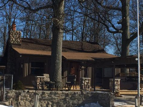 Indian Lake Ohio Cabin Rentals by Cozy Indian Lake Rustic Log Cabin Vrbo
