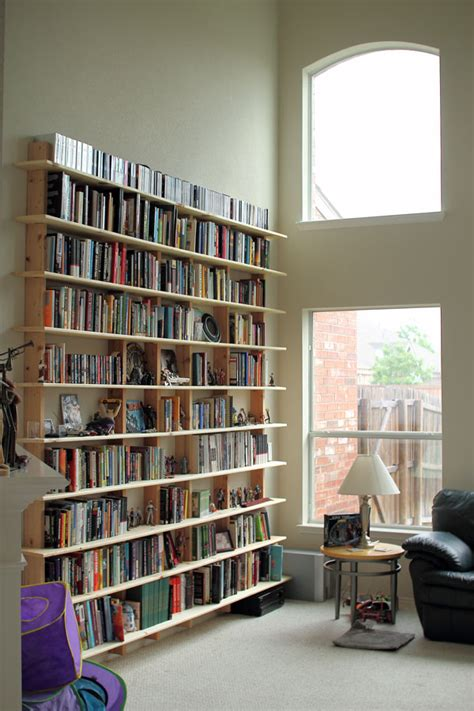 really simple bookshelf of any size home