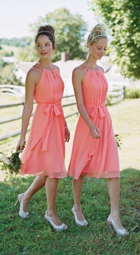 Collar Bow Sleeveless Top Whiteblue 13649 knee length bridesmaid dress ideas weddceremony