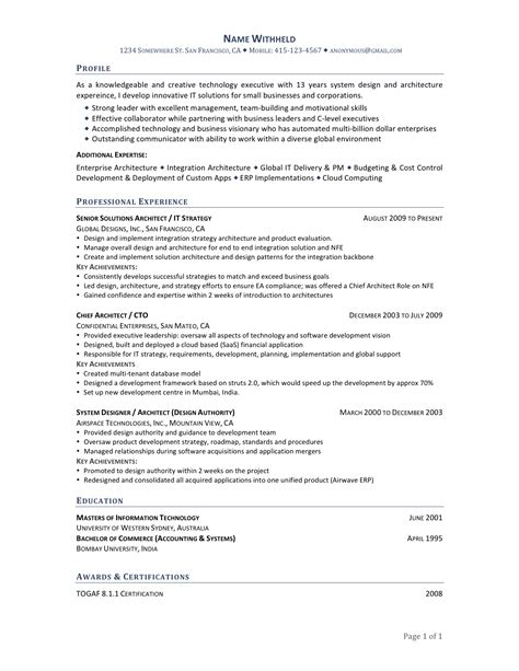 chronological resumes resume sles chronological vs function resume formats