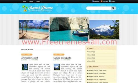 jquery layout free download jquery travel blue blogger template theme download
