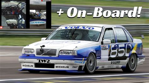 volvo  btcc  rydell  actions exclusive multicam  board youtube