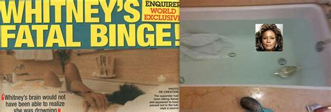 whitney houston died in bathtub obama dead face