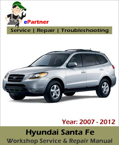 service and repair manuals 2008 hyundai santa fe engine control 2008 hyundai santa fe service manual free printable 2008 hyundai santa fe service manual