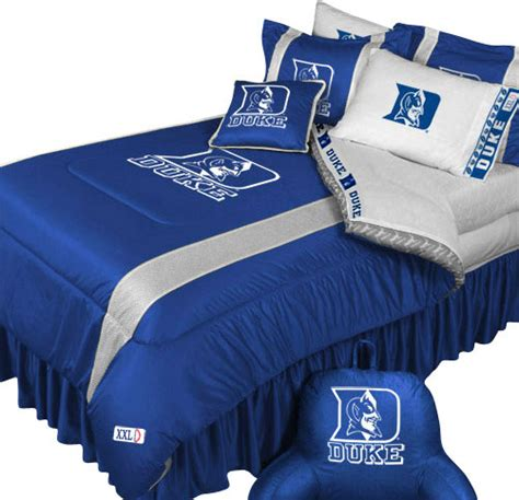 Football Bed Set Ncaa Duke Blue Devils Bedding Set College Football Bed Contemporary Bedding By