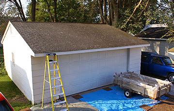 Replacing A Flat Garage Roof by Garage Roof Replacement Repairs Wrexham