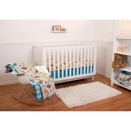 pinwheel woodlands 6 crib bedding set walmart