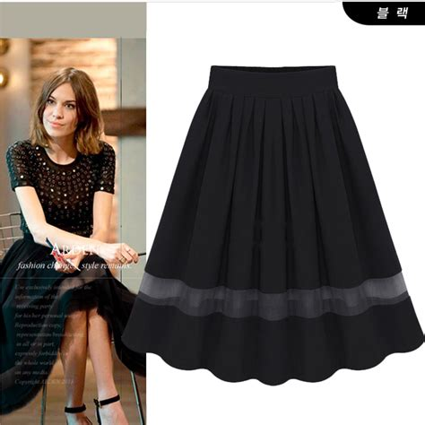 7 Skirts For End Of Summer by New 2015 Summer Skirts Amazing Chiffon Knee