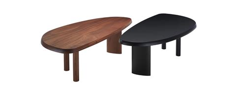 Mahogany Dining Room Tables 525 Table En Forme Libre Table By Charlotte Perriand Cassina