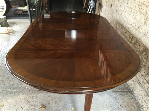 drexel heritage dining table drexel heritage 18th century dining table on