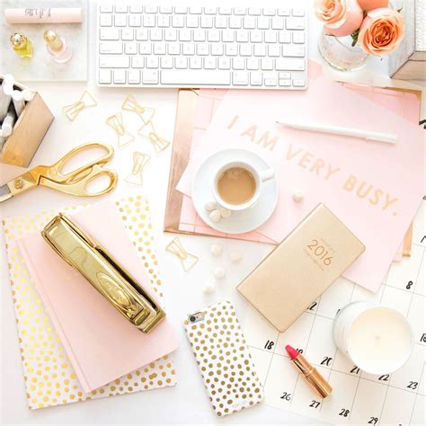 8 Pretty White Accessories by 25 Desk Accessories That Will Make Your Workspace Chic Af