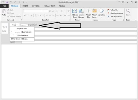configure xp email send email using outlook 2007 for two accounts but