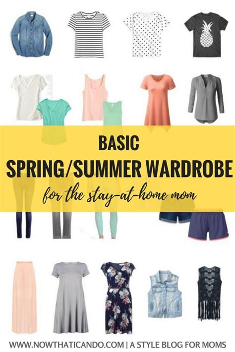 Wardrobe For Stay At Home by Basic Summer Capsule Wardrobe 86 For