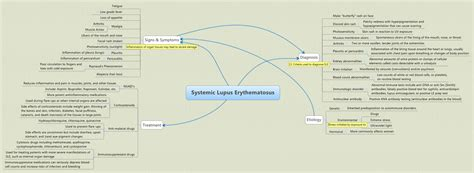 systemic lupus erythematosus jertyler xmind the most professional mind mapping software