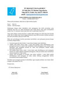 contoh surat teguran skpd 28 images fame office contoh surat