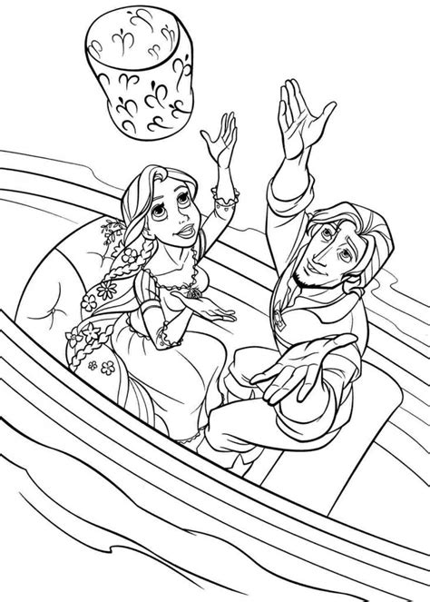 disney princess coloring pages rapunzel and flynn free printable rapunzel princess with prince flynn