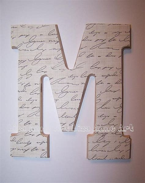 Decor Letters by Wooden Wall Letter Design 12 By Liza Modern