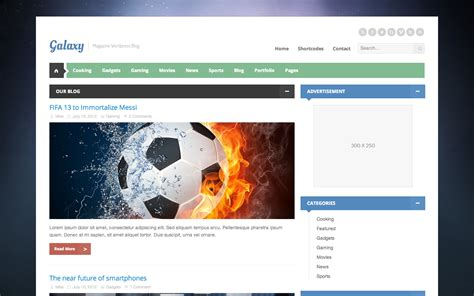 blogger themes galaxy galaxy magazine theme templates wordpress e tutoriais
