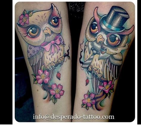 owl tattoos for couples 17 best images about coruja taoo on owl tat