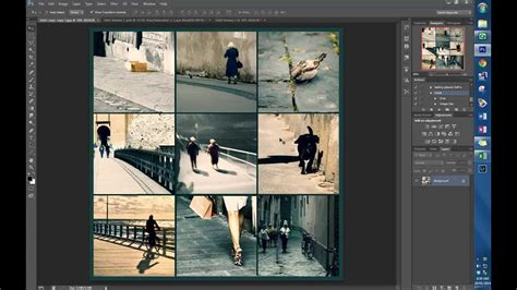 layout grid photoshop creating an image grid in photoshop youtube