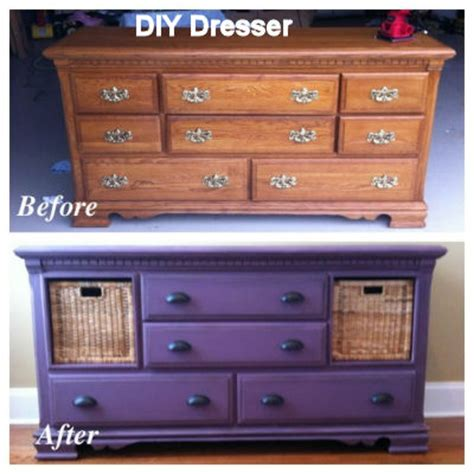 Dresser With Baskets by 15 Dresser Makeovers That Ll Make You Your Furniture