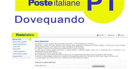 poste italiane lettere dovequando poste italiane come tracciare la raccomandata