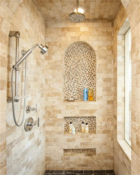 master bathroom ideas walking shower contemporary