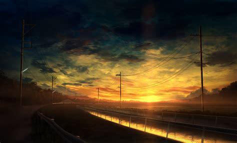 wallpaper anime original beautiful landscapes full hd papel de parede and