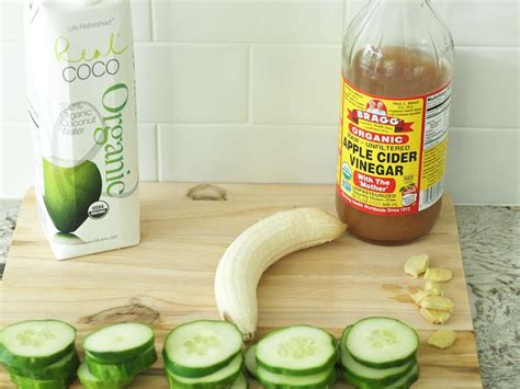 Detox For Bloating And Swelling by The Anti Bloat Smoothie Recipe Apple Cider Flats And