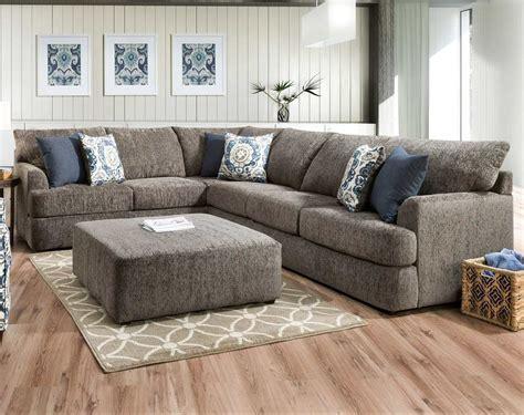 reflex shadow 2 pc sectional sofa american freight