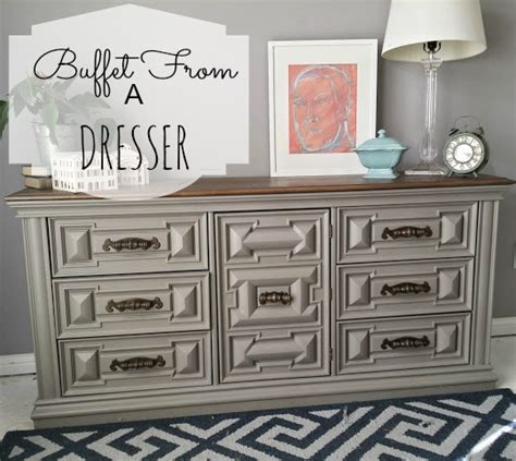 How To Turn A Dresser Into A Buffet Table by Hometalk How To Turn A Dresser Into A Functional Buffet
