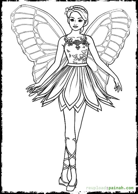 barbie butterfly coloring pages mermaid barbie coloring pages coloring pages